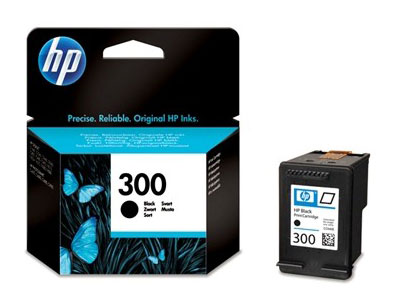 HP 300 Cartouche d'encre Noir authentique (CC640EE) (photo)