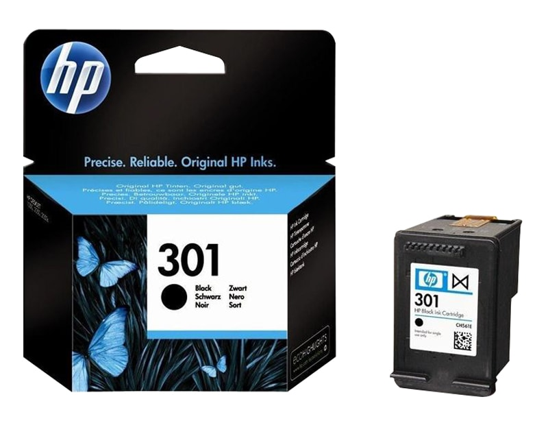 HP 301 Cartouche d'encre Noir authentique (CH561EE) (photo)