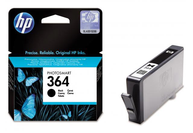 HP 364 Cartouche d'encre Noir authentique (CB316EE) (photo)
