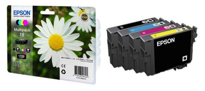 MultiPack EPSON T1806 Paquerette (photo)