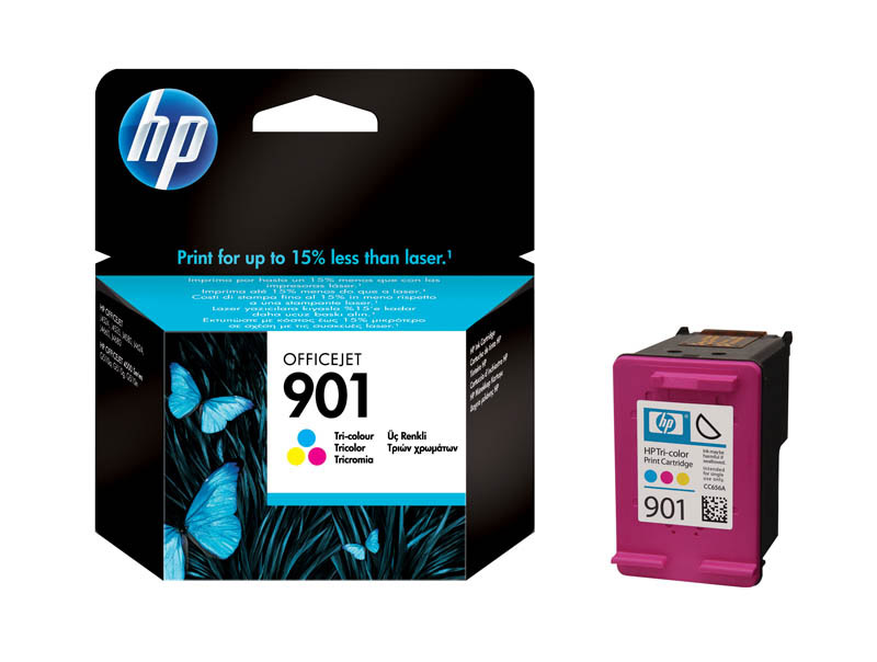 Cartouche HP N°901 3 Couleurs
