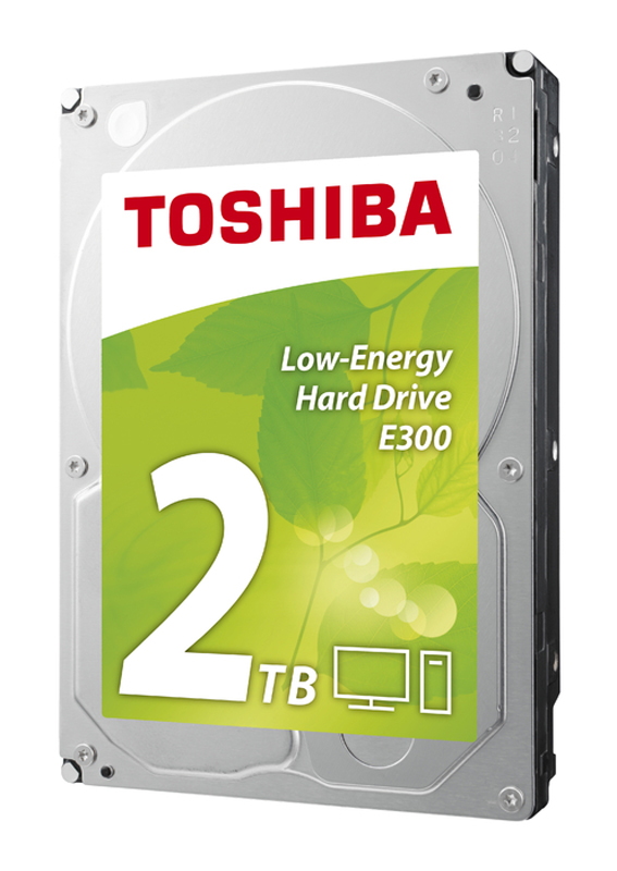 Disque Dur Interne 3,5'' Toshiba Sata 2 To