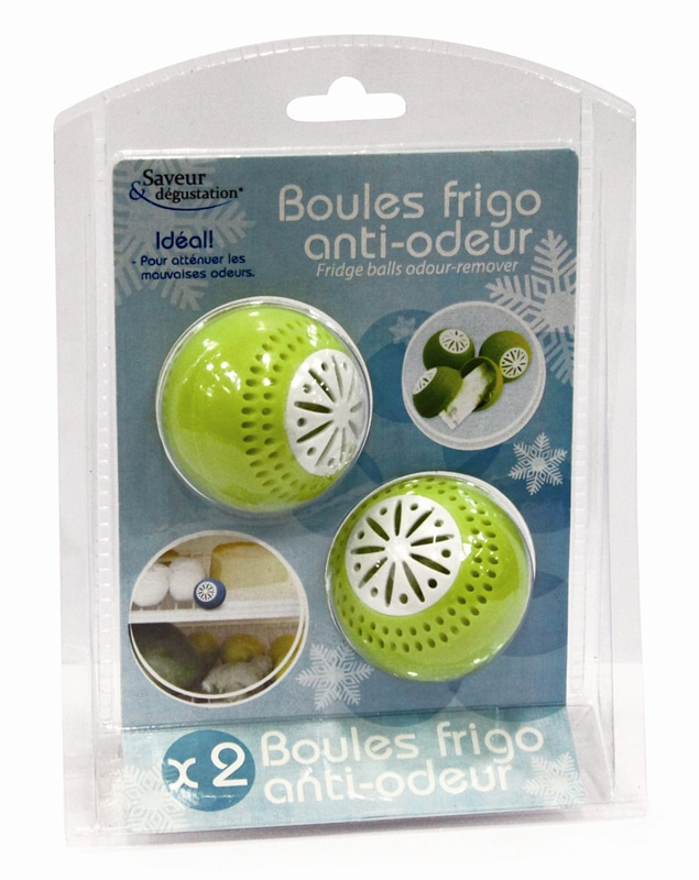 2 boules frigo anti-odeur (photo)