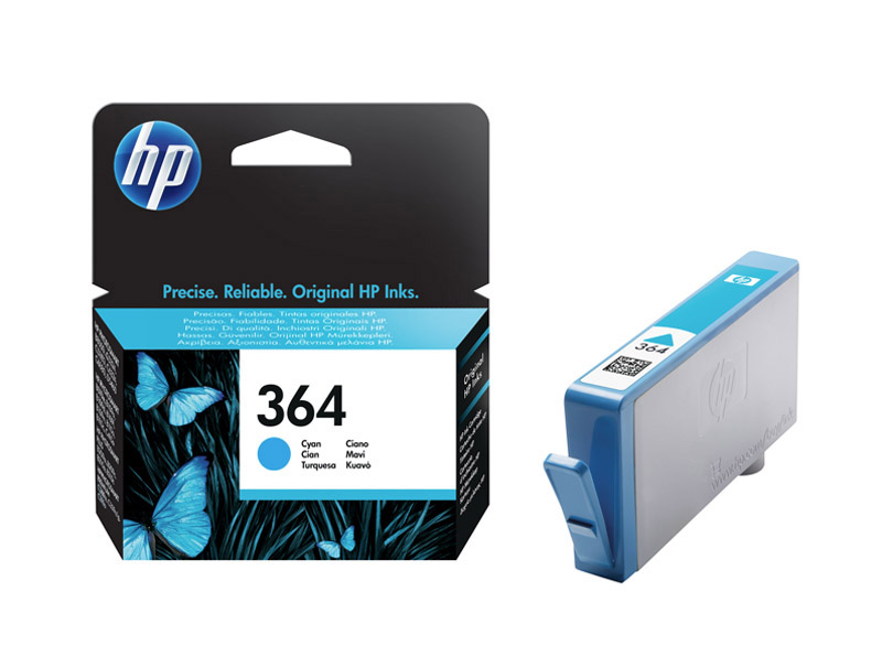 Cartouche HP 364 Cyan authentique (photo)