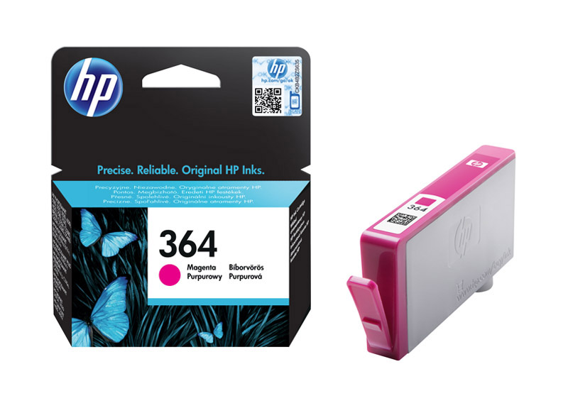 Cartouche HP 364 Magenta authentique (photo)