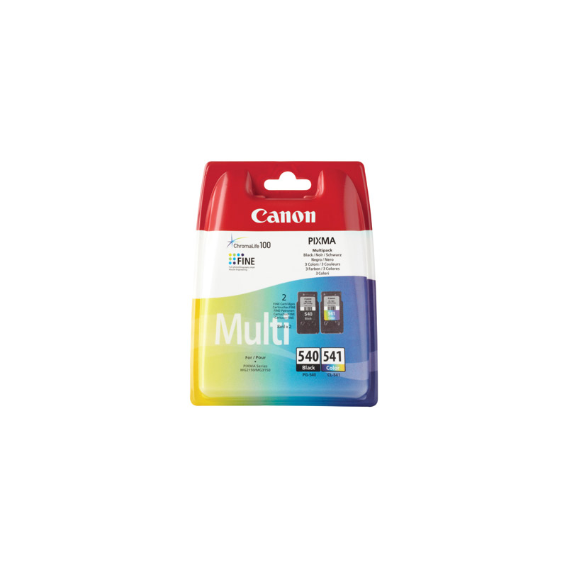 MultiPack CANON PG-540+CL-541 4 Couleurs
