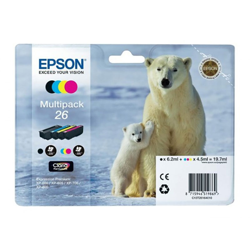 MultiPack EPSON T2616 Ours Polaire (photo)
