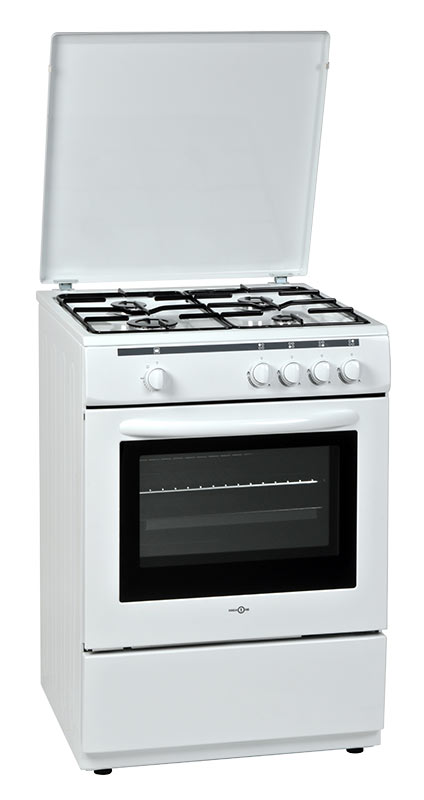 Cuisinière gaz HIGH ONE HIG CG 60 4CM BVT (photo)