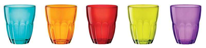 Verre couleur 23 cl (photo)