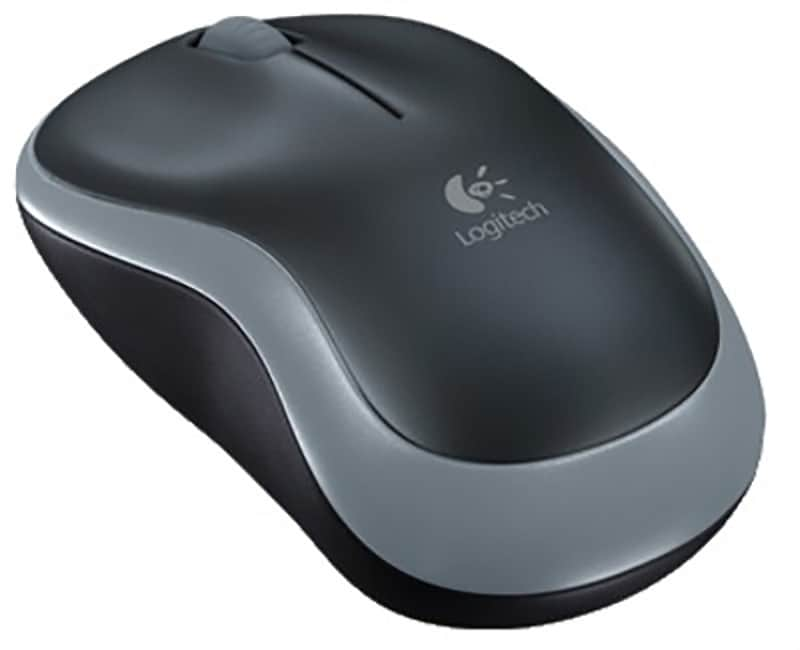 Souris sans fil LOGITECH M185 grise (photo)
