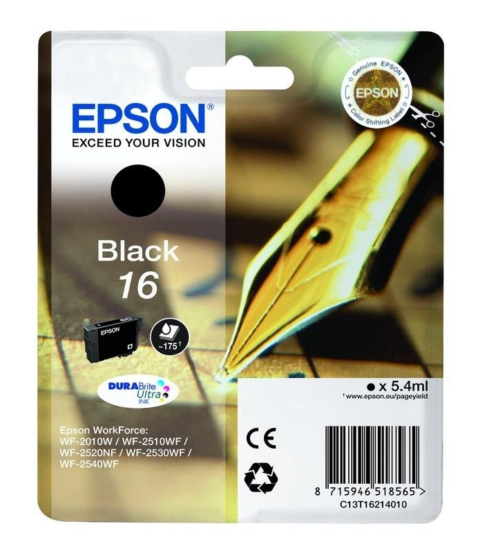 Cartouche EPSON StyloPlume T1631 Noire