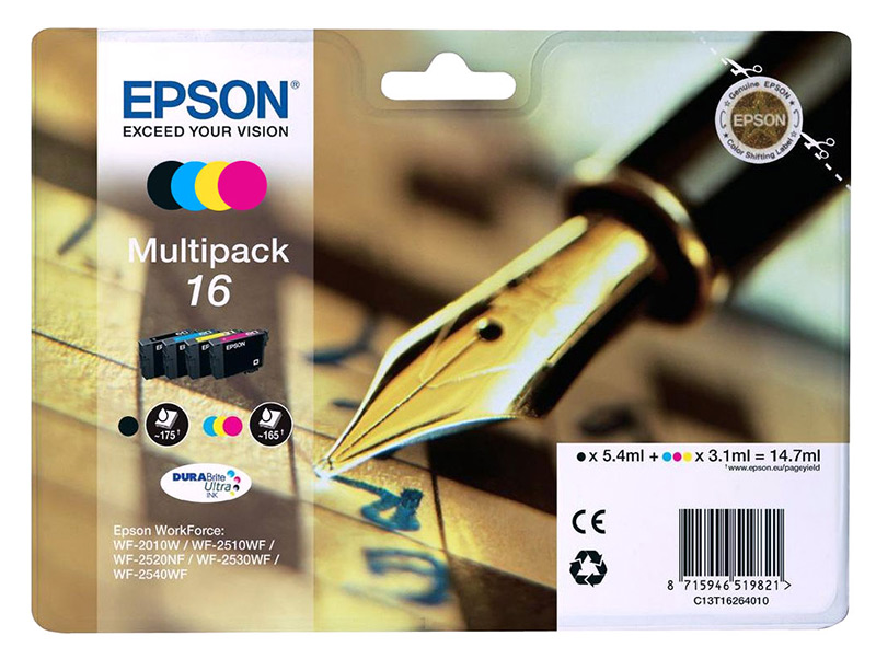 MultiPack EPSON Stylo Plume T1626 (photo)