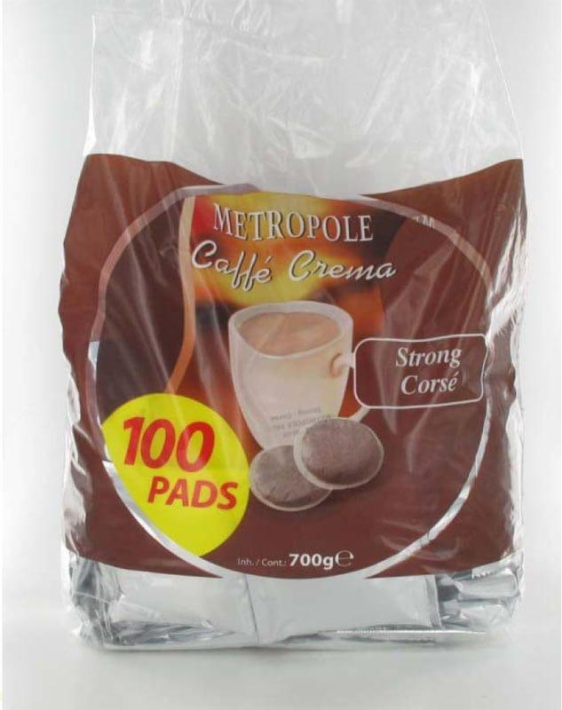 Dosettes de cafe METROPOLE Corse x100 (photo)