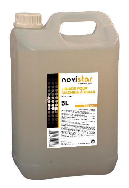 Liquide Machine à bulles novistar 5l