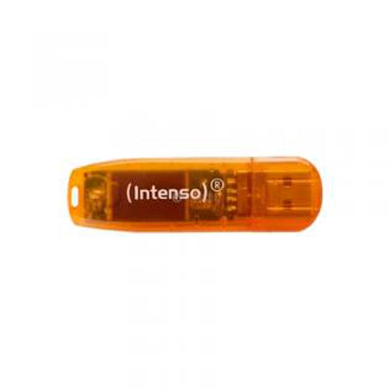 Cle USB 64 go INTENSO Rainbow (photo)