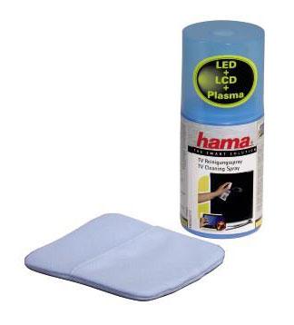Spray de nettoyage HAMA TV avec gant, 200 ml