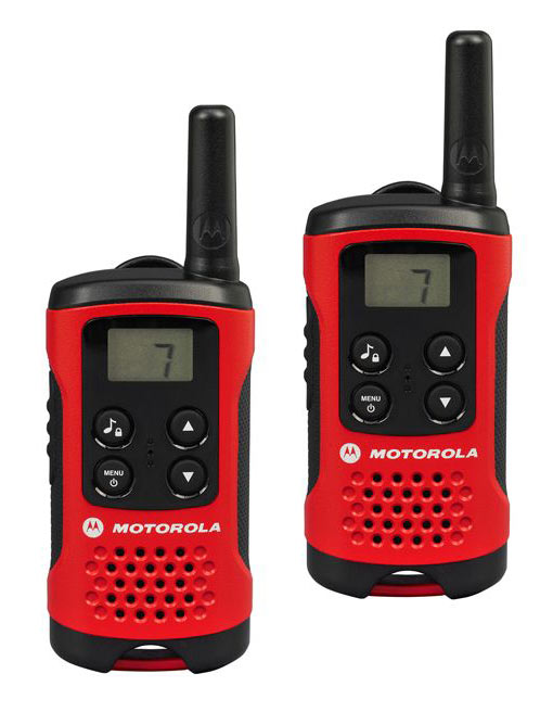 Talkie Walkie Motorola 2xt40 Rouge/noir
