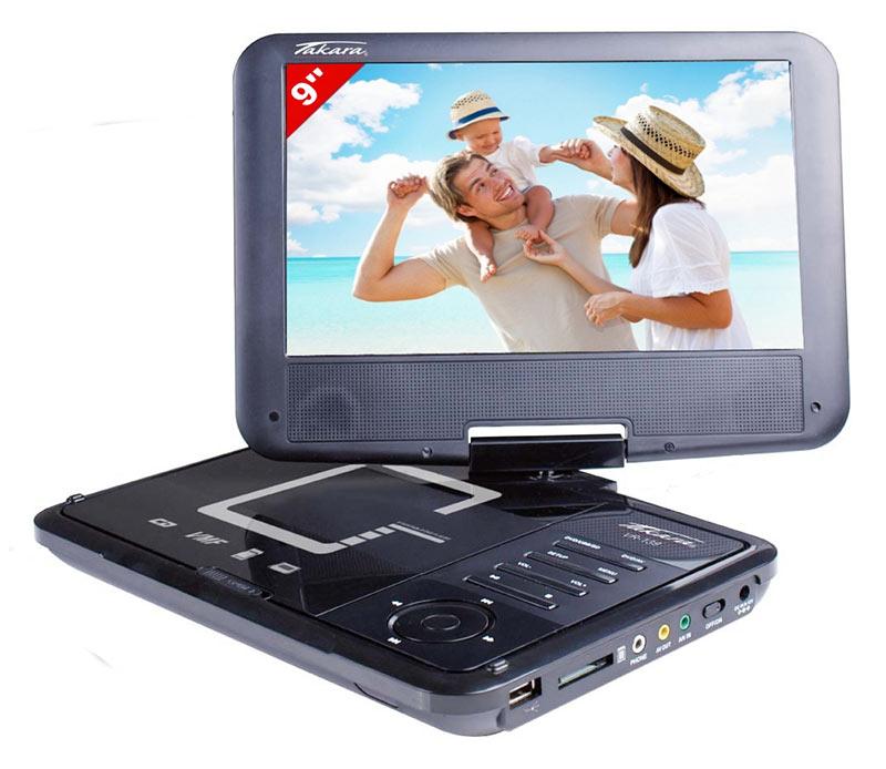 Dvd Portable Takara 9'' Vr139