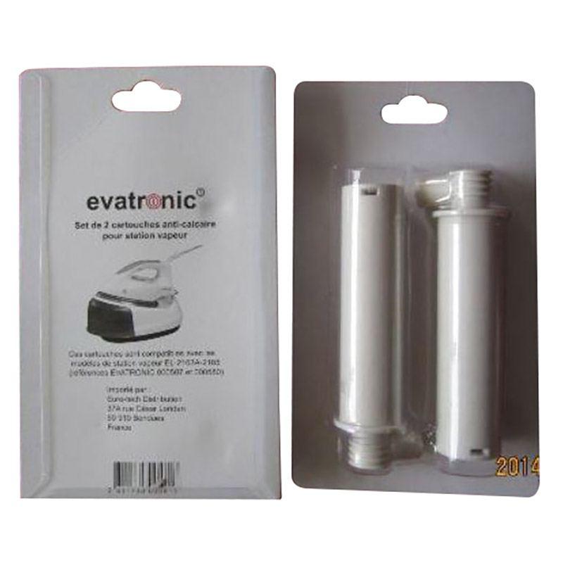 2 Cassettes Anti-calcaire Evatronic 581 (photo)