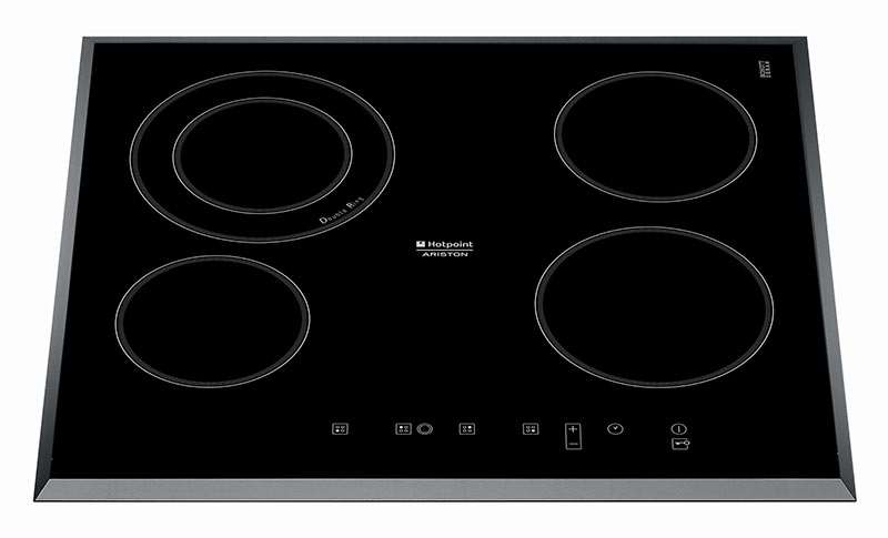 Table vitroceramique HOTPOINT KRC 641 DB