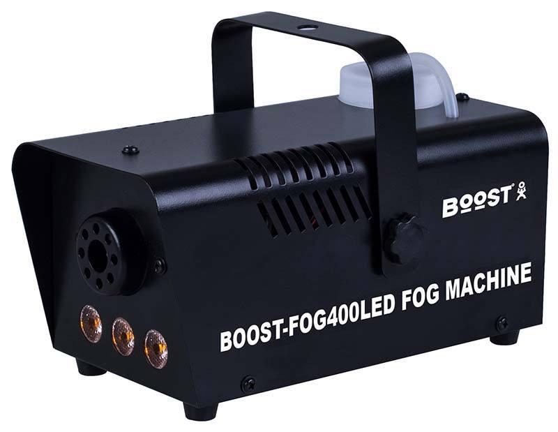 Machine à fumee BOOST FOG400 3LEDS Black (photo)