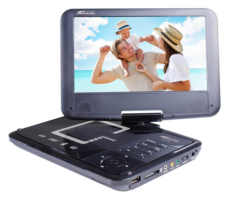 Lecteur DVD Portable TAKARA VR149B (photo)