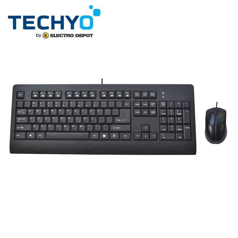 Pack TECHYO clavier + souris filaire