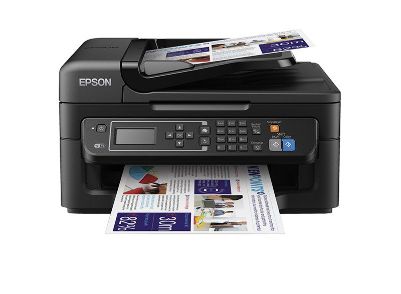 Imprimante multifonction EPSON WF-2630WF 4en1 (photo)