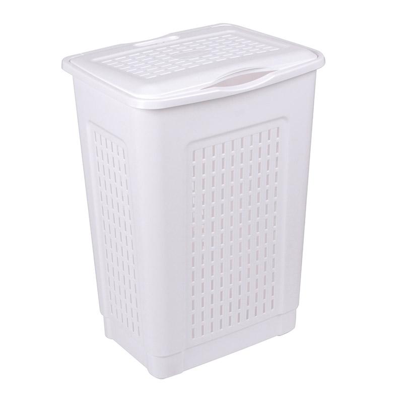 Bac à linge 50 litres avec couvercle (photo)