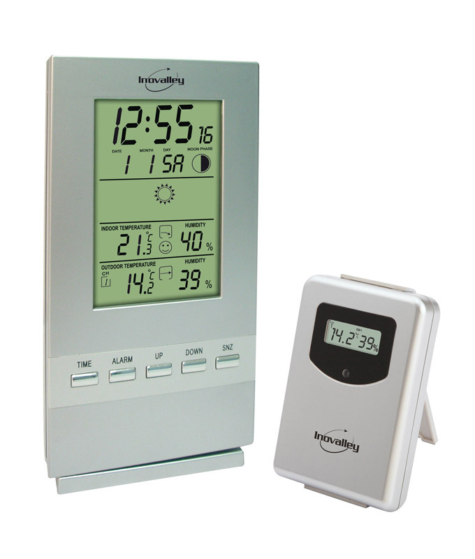 Station Meteo INOVALLEY SM300 Silver