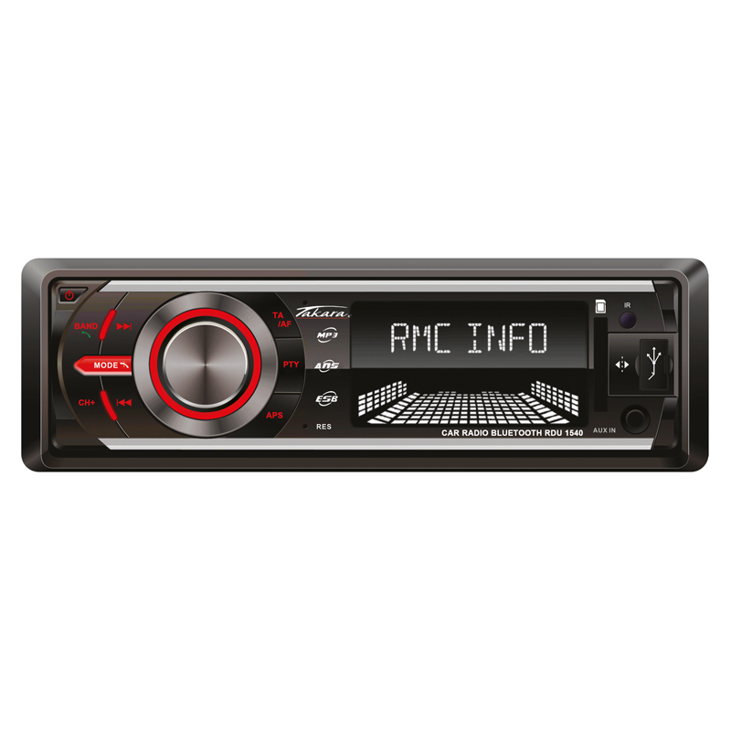 Autoradio TAKARA RDU1540 USB Bluetooth SD (photo)