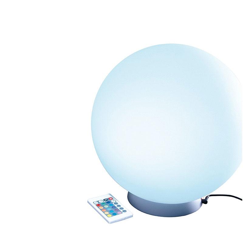 Boule LED rechargeable waterproof 30 cm