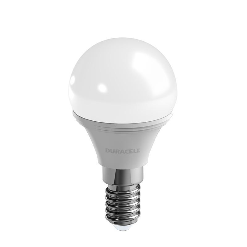 Ampoules Mini Globe x 3 DURACELL LED E14