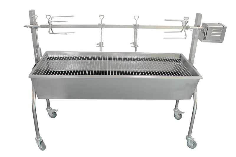 Barbecue charbon TEAM TKG GRB 1001 Rotisserie