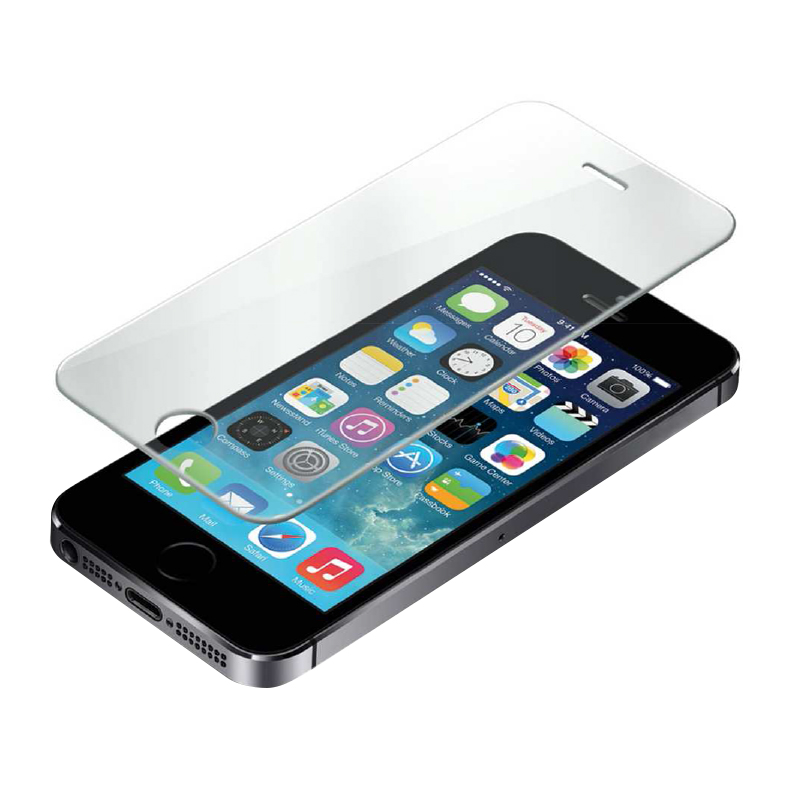 Film de protection WE verre trempe iPhone 5/5S/SE