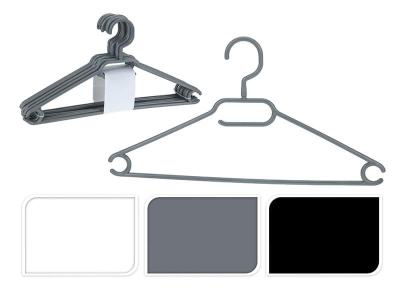 Cintres x10 plastique tête pivotante (photo)