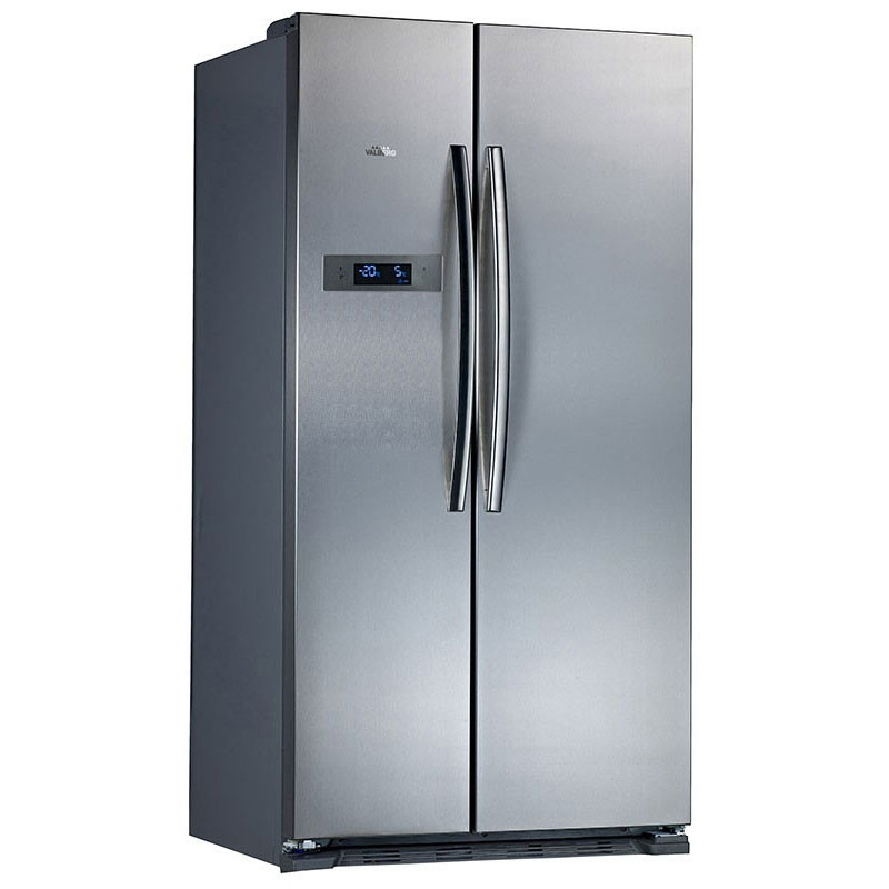 refregirateur americain haier hb22fwrssa french style 4 door fridge freezer r frig rateur am. Black Bedroom Furniture Sets. Home Design Ideas