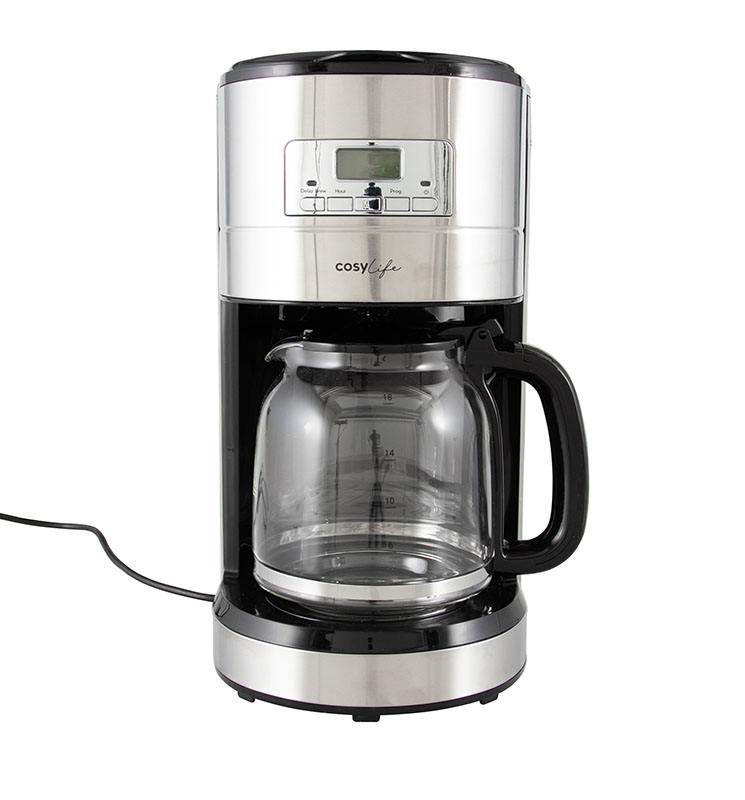 Cafetière filtre programmable COSYLIFE CL-PRG16X (photo)