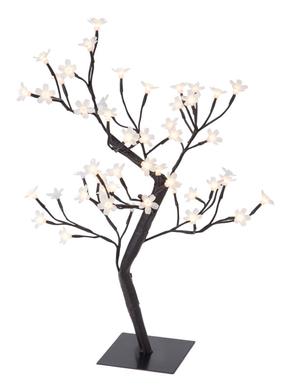 Arbre BE HAPPY 48 LED Blanc chaud