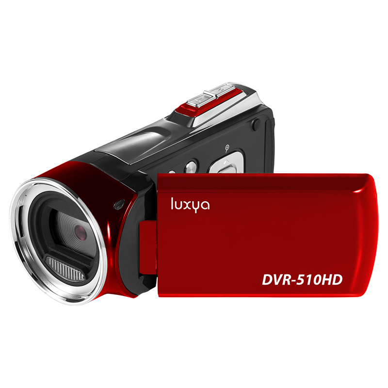 Camescope LUXYA DVR-510HD 1080p rouge