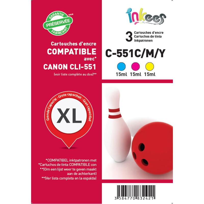 Multipack CANON C551 C/M/J