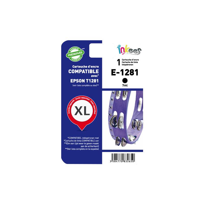 Cartouche INKEES E1281 compatible EPSON