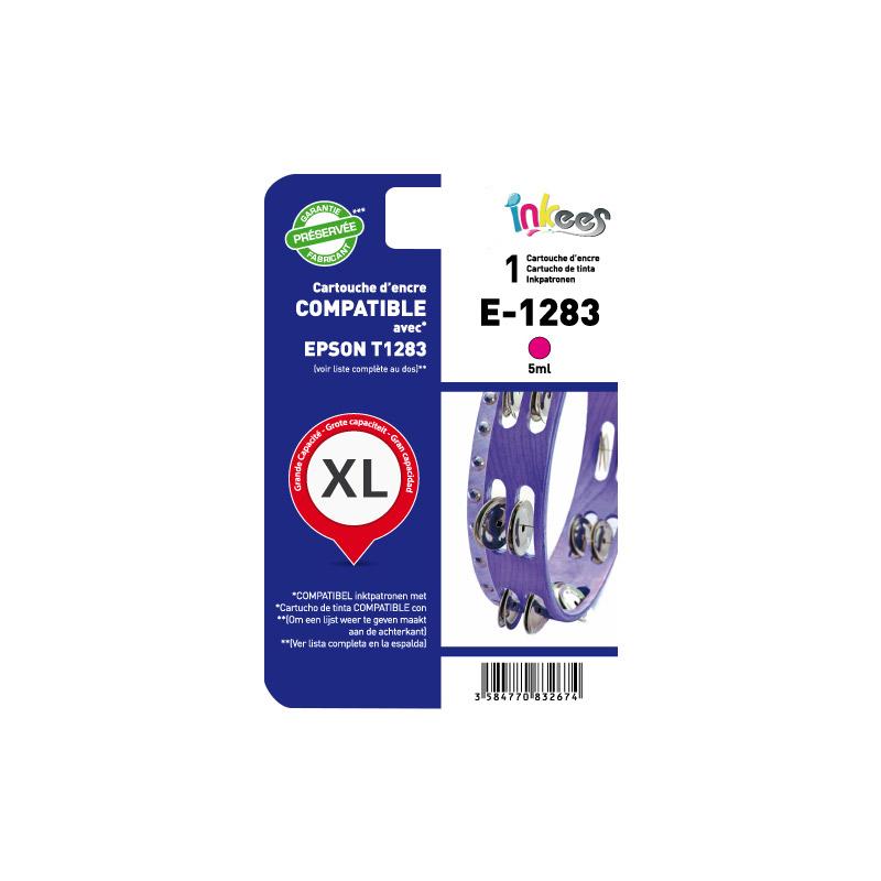 Cartouche INKEES E1283 magenta compatible EPSON