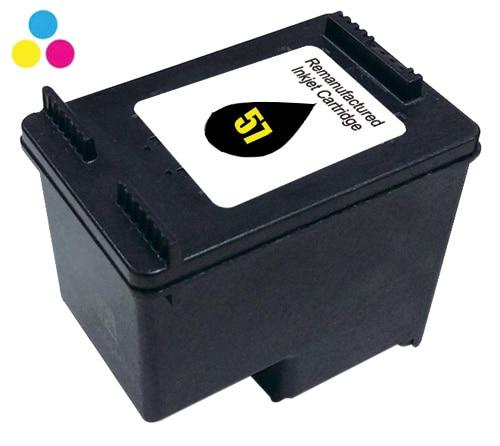 Cartouche INKEES H57 couleurs compatible HP (photo)