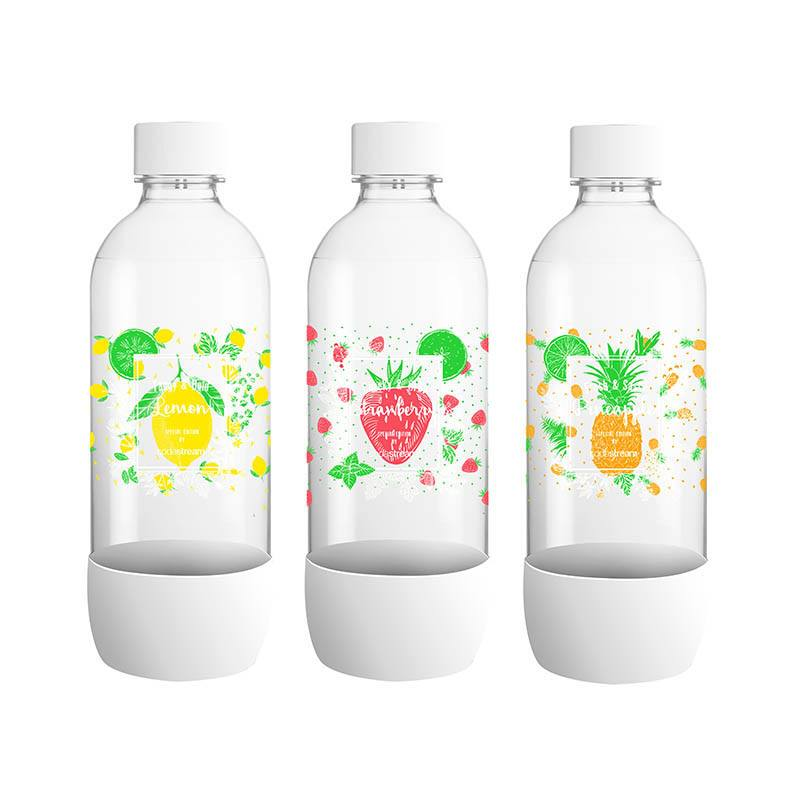Pack de 3 bouteilles SODASTREAM (photo)
