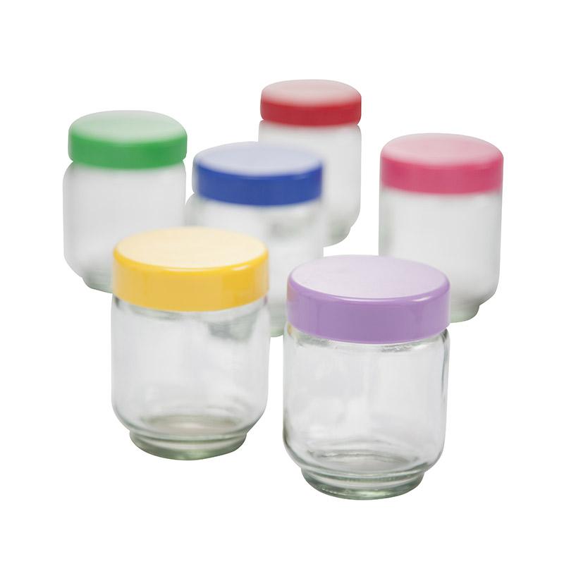6 pots COSYLIFE CLPY6C pour yaourtière