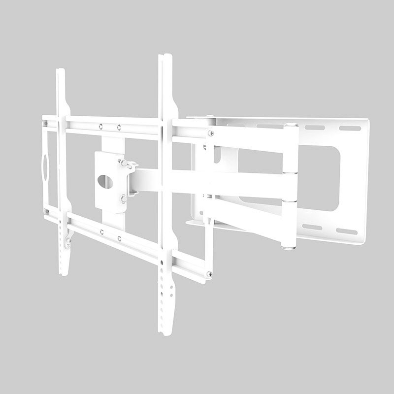 Support TV de 82 à 152 cm bras deporte blanc N°7 (photo)