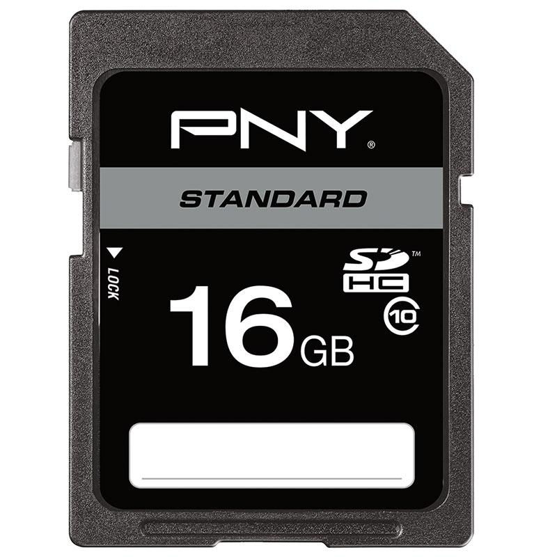 Carte SD PNY 16 Go Class 10