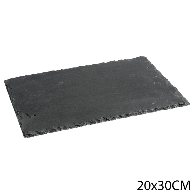 Assiette de presentation ardoise 20 x 30 cm (photo)
