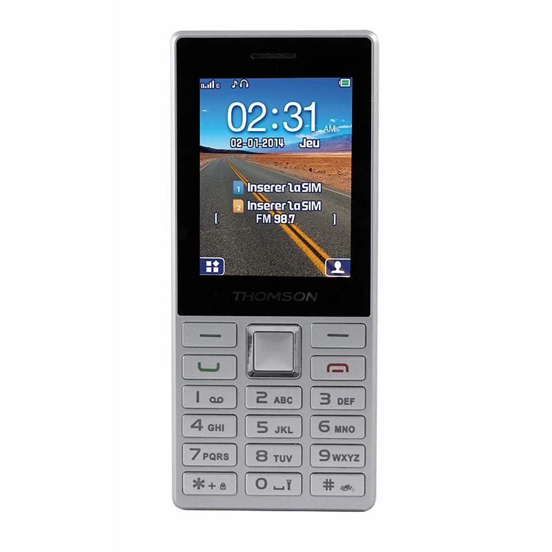 Mobile THOMSON Tlink 24 Dualsim silver